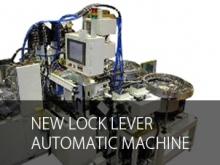 New lock lever automatic machine