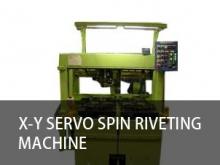X-Y servo spin riveting machine