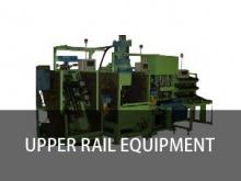 Upper rail equipment